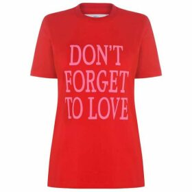 Alberta Ferretti Dont Forget To Love T Shirt