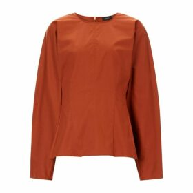 Joseph Cass Cotton Stretch Blouse