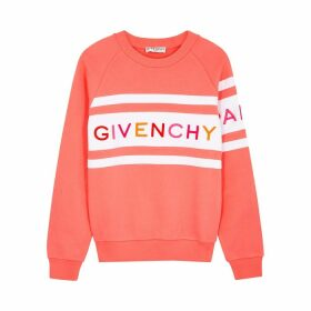 Givenchy Logo-embroidered Cotton Sweatshirt