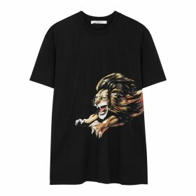 Givenchy Lion-print Cotton T-shirt