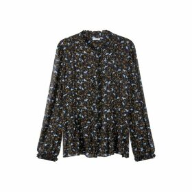 Jigsaw Scattered Ditsy Crinkle Top