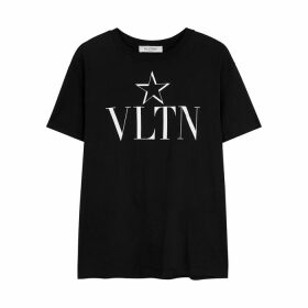 Valentino VLTNSTAR Printed Cotton T-shirt