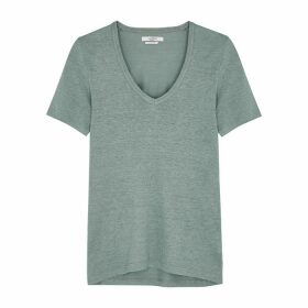 Isabel Marant Étoile Kranger Sage Linen T-shirt