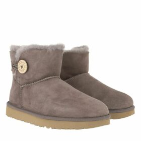 UGG Boots & Booties - W Mini Bailey Button II Mole - brown - Boots & Booties for ladies