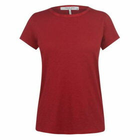 Rag and Bone R And B The Tee Red Ld01