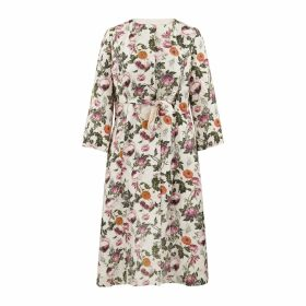 Monica Nera - Aida Copper Silk Long-Sleeve Blouse