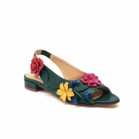 Allora - Oversized Knitted Wrap Scarf Deep Olive