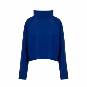 EVVEERVITAL - High Neck Sweater Cobalt Blue