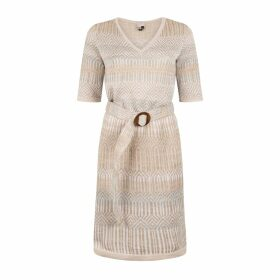 IN. NO - Navy May Tulle Sleeved Sweater