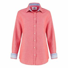 KOY Clothing - Ladies Coral Red Kabisa 'Noni' Shirt