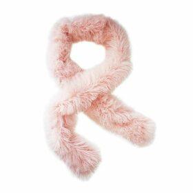 Florence Bridge - Long Tube Scarf (Powder Pink)