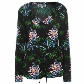Kenzo Lily Print Shirt