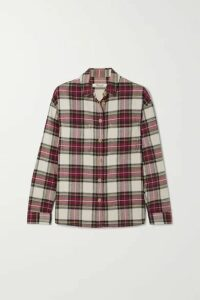 Madewell - Tartan Cotton-flannel Shirt - Red