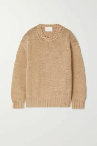 Bassike - Cotton And Merino Wool-blend Sweater - Tan