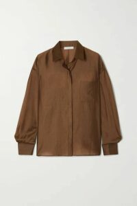 LVIR - Tencel-blend Shirt - Brown