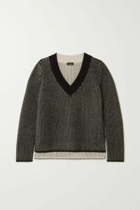 Akris - Cashmere And Cotton-blend Sweater - Black