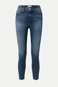 FRAME - Ali High-rise Skinny Jeans - Light denim