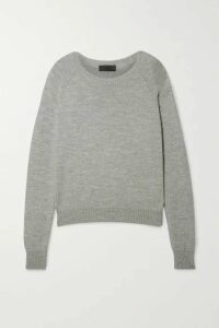 Nili Lotan - Vesey Merino Wool And Alpaca-blend Sweater - Gray