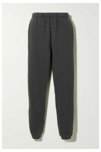 Les Tien - Cotton-jersey Track Pants - Black