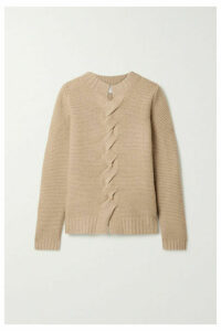 Max Mara - Albania Wool And Cashmere-blend Sweater - Camel