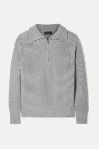 Nili Lotan - Hester Ribbed Cashmere Sweater - Gray