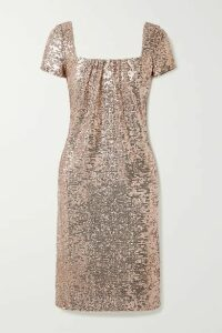 Reem Acra - Sequined Tulle Dress - Pink