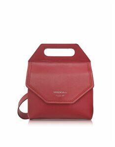 Emporio Armani Designer Handbags, Large Leather Crossbody Bag