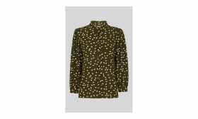 Shadow Spot Print Shirt