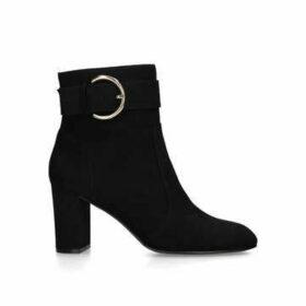 Carvela Slimmer - Black Block Heel Ankle Boots