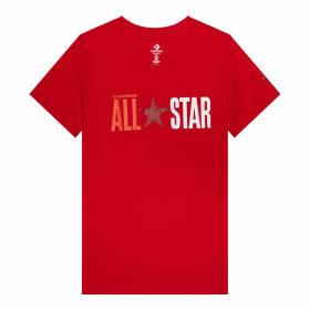Womens All Star Remix Short Sleeve Tee