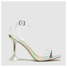 Schuh Silver Lucky High Heels