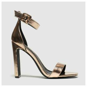 Schuh Bronze Secret Crush High Heels