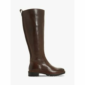 Bertie Tallow Knee High Cleated Sole Boots