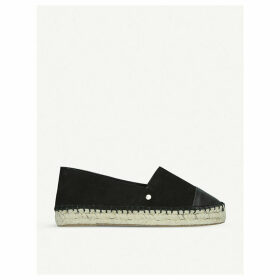 Destiny leather espadrilles