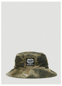 Heresy X Arktis Omen Boonie Bucket Hat in Green size One Size