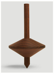 Tre Product Simple Spinning Top in Brown size One Size
