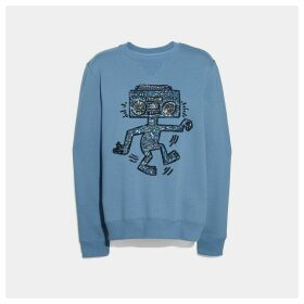 Coach X Keith Haring Embellished Sweatshirt