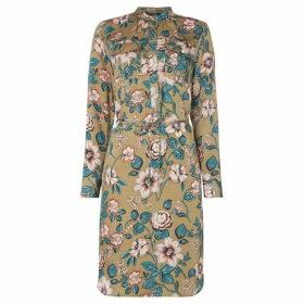 Lauren by Ralph Lauren Raisa tiered floral dress - Green
