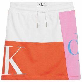 Calvin Klein Jeans Mono PatchW Skrt Jn94 - White