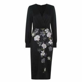 Ted Baker Opal Midi Dress - Black