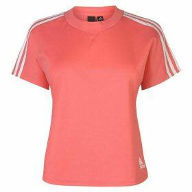 adidas Attitude T Shirt Ladies - Prism Pink
