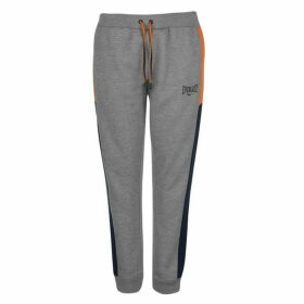 Everlast Cut and Sew Jogging Pants Ladies - Nvy/Grey/Orange