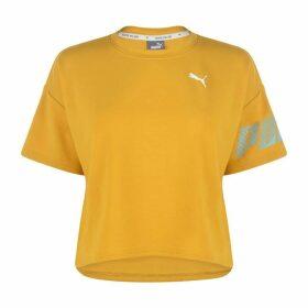 Puma Sport T Shirt - Yellow