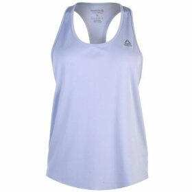 Reebok Logo Tank Top Ladies - Denim Dust