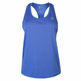 Reebok Logo Tank Top Ladies - Crush Cobalt
