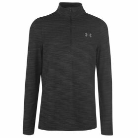 Under Armour Vanish Half Zip Top Mens - Black