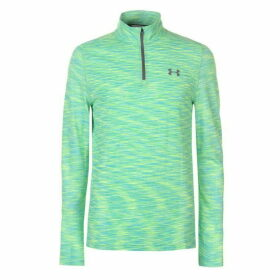 Under Armour Threadborne Seamless Quarter Zip Top Mens - Green