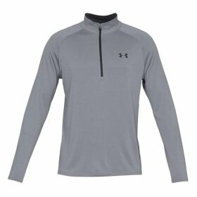 Under Armour Technical Half Zip Top Mens - Grey
