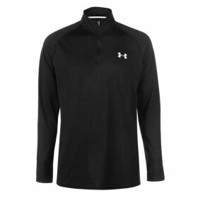 Under Armour Tech quarter Zipped Top Mens - Black