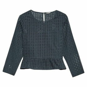 Jack Wills Millie-Sue Overt Lace Top - Navy